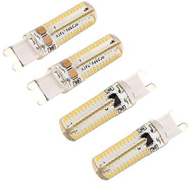 YouOKLight 350lm G9 LED 콘 조명 T 104 LED 비즈 SMD 3014 밝기조절가능 / 장식 따뜻한 화이트 220-240V