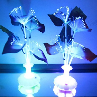 LED Night Light Waterproof Battery Acrylic 1 Light No Batteries Included 11.0*11.0*29.0cm