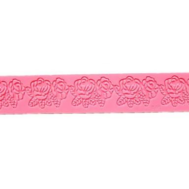 장미 꽃 레이스 케이크 금형