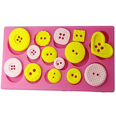 Gum Paste Decorating Tools Button Cake Decorating Mold