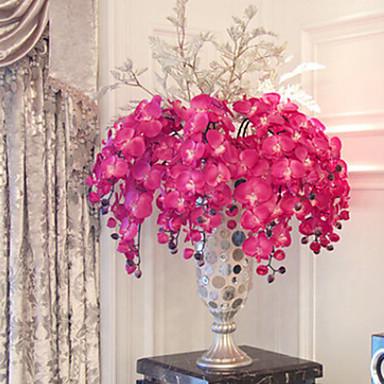 Kunstige blomster 1 Gren Moderne Stil Orkideer Bordblomst