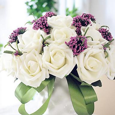 şube Strafor Güller Masaüstü Çiçeği Yapay Çiçekler