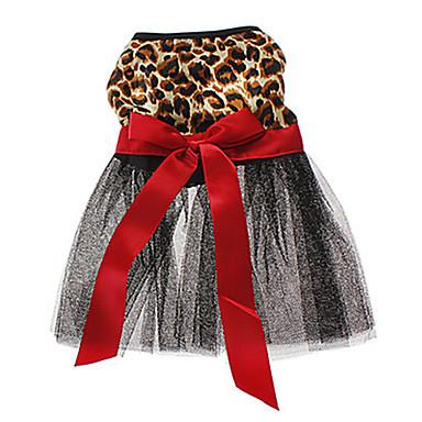 Kedi Köpek Elbiseler Köpek Giyimi Düğün Hayvan Kahverengi Kostüm Evcil hayvanlar için