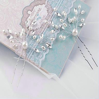 Γυναικείο Κράμα Απομίμηση Μαργαριτάρι Headpiece-Γάμος Λουλούδια