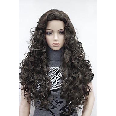 Peruki syntetyczne Włosy syntetyczne Peruka Damskie Halloween Wig / Karnawałowa Wig Codzienny