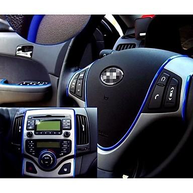 стикер автомобиля наклейки украшения нить авто стиль крытый отец интерьер автомобиля экстерьер тело модифицировать стекл 6 цветов 5M / шт