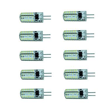 10 Stück 150-180lm G4 LED Spot Lampen 48 LED-Perlen SMD 3014 Warmes Weiß / Kühles Weiß 220-240V