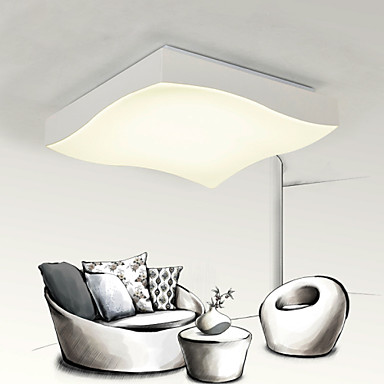 Montage du flux ,  Contemporain Peintures Fonctionnalité for LED Style mini MétalSalle de séjour Chambre à coucher Salle à manger