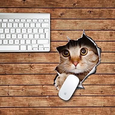 The Cat Design Decorative Mouse Pad Mac Skin Stickers Mac Accessories