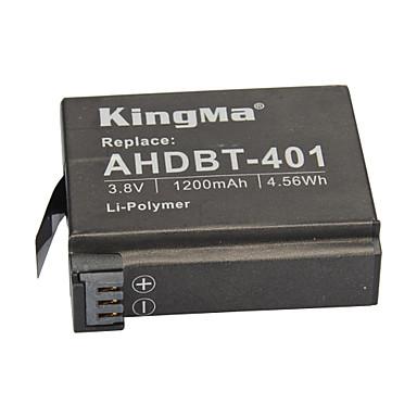 KingMa® Rechargeable AHDBT-401 Battery 1200mAh for Gopro Hero 4 Black Hero Silver
