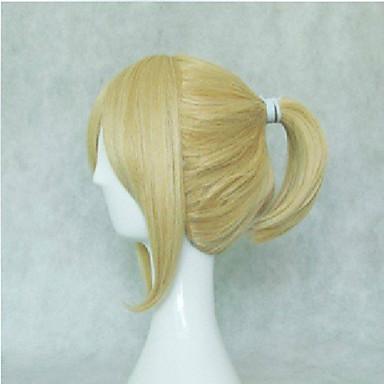 Synthetische Perücken / Perücken Glatt Blond Synthetische Haare Blond Perücke Damen