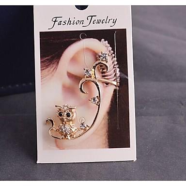 Ear Cuffs Rhinestone Alloy Fashion Jewelry Wedding Party Daily Casual Sports 1pc