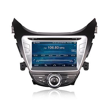 cusp® 8 tommer 2DIN bil dvd-afspiller til Hyundai Elantra / Avante / I35 2011-2013 support gps, bt, rds, spil, ipod