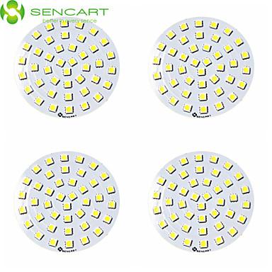 SENCART 4 Stück 12V LED Chip Acryl PBT (Polybutylenterephthalat) 9W