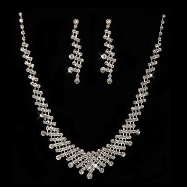 Korusetti Naisten koot Vuosipäivä / Häät / Kihlaus / Syntymäpäivä / Erikoistilaisuus Jewelry Sets Cubic Zirkonia / MetalliseosCubic