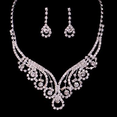 Жен. Прочее Комплект ювелирных изделий Серьги / Ожерелья - регулярное Назначение Свадьба / Для вечеринок / Особые случаи