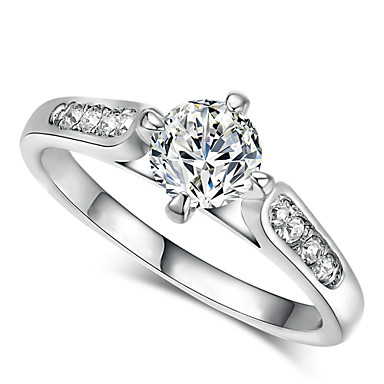 Statement Rings Crystal Cubic Zirconia Simulated Diamond Alloy Classic Jewelry Wedding Party Daily Casual 1pc