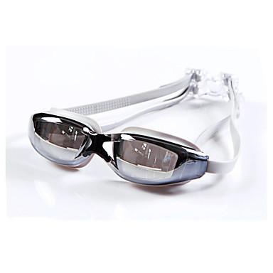Yüzme Gözlüğü UnisexBuğulanmaz / Su Geçirmez / Ayarlanabilir Boyut / Anti-UV / Kırılmaz/dağılmaz / Ayarlanabilir Kenar Pedleri / Kaymaz
