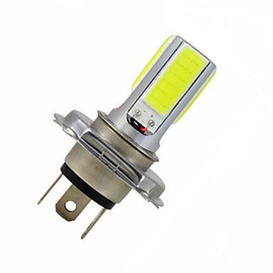 3.5 W 300-350 lm H4 Lampe de Décoration 4LED Perles LED COB Blanc Froid 12 V / 1 pièce / RoHs / CCC