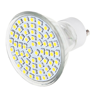 YWXLIGHT® 570 lm GU10 LED szpotlámpák 1 led SMD 3528 Meleg fehér Természetes fehér AC 220-240V