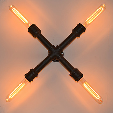 AC 110-120 AC 220-240 E26/E27 Деревенский стиль Живопись Особенность for Лампа входит в комплект настенный светильник