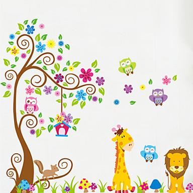 Animals Wall Stickers Plane Wall Stickers Decorative Wall Stickers, Vinyl Home Decoration Wall Decal Wall