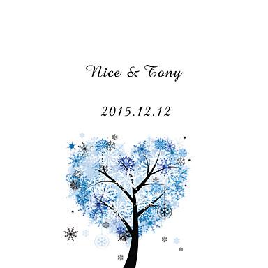 Glatte Karte Hochzeits-Einladungen Anderen Einladungskarten Klassisch Material Perlenpapier Blume