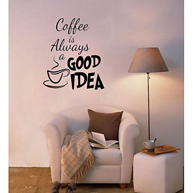Decorative Wall Stickers - Plane Wall Stickers Still Life Living Room / Bedroom / Dining Room / Study Room / Office
