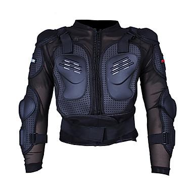 프로 바이 커 p-13 오토바이 레이싱 재킷 motocross 전신 갑옷 척추 가슴 강화 강화