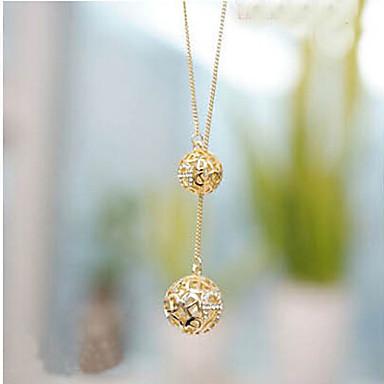 Mulheres Diamante sintético Colares com Pendentes - Imitações de Diamante Cor Ecrã Colar Para