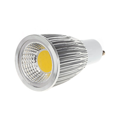 5W 450-550 lm GU10 LED 스팟 조명 MR16 1 LED가 COB 따뜻한 화이트 차가운 화이트 AC 100-240V