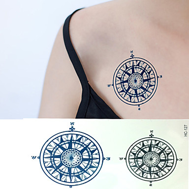 1 Non Toxic Lower Back Waterproof Others Tattoo Stickers