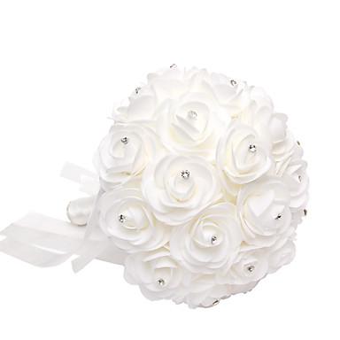 Düğün Çiçekleri Buketler Düğün / Parti / Gece Kristal / Yapay Elmas / Köpük 11.02