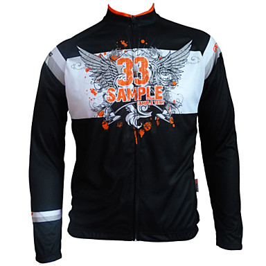 GETMOVING Cycling Jersey Women's Men's Kid's Unisex Long Sleeve Bike Jersey Tops Anatomic Design Anti-Insect Breathable Back Pocket100%