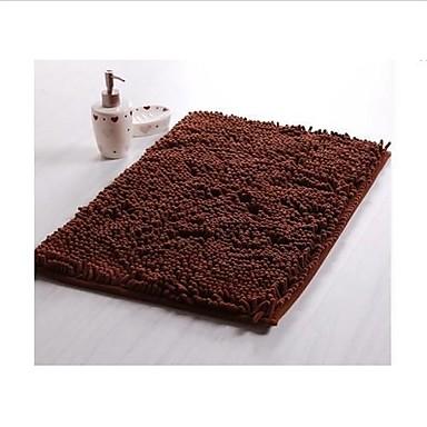 Floor Slip-Resistant Set Microfiber Chenille Bath Mats