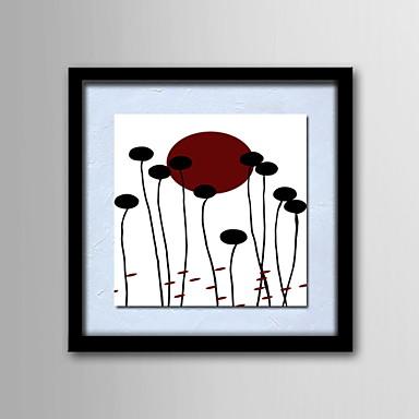Картины маслом одна панель современные абстрактные цветы ручной росписью холст готовы повесить