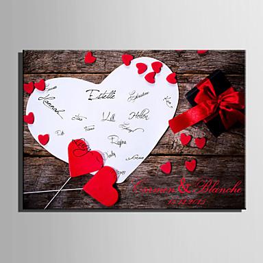 Signatur Rahmen & Platten Papier Garten / Hochzeit Mit Muster Hochzeitsaccessoires
