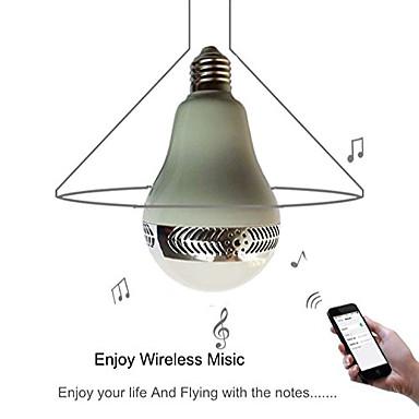 YWXLIGHT® 1pc 5 W 500 lm E26 / E27 LED Kugelbirnen 1 LED-Perlen Bluetooth / Wiederaufladbar / Abblendbar 85-265 V / 1 Stück / RoHs