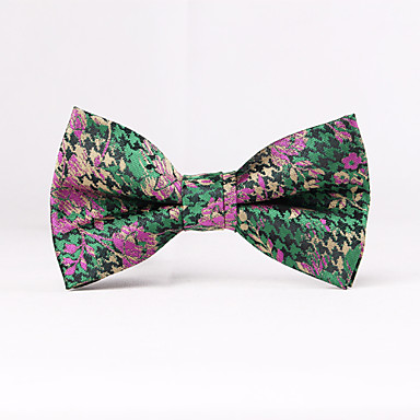 Men's Party/Evening Wedding Formal The Man's Green Rural Bow Tie