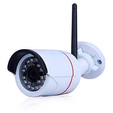 Caméra ip extérieure 1080p ir-cut jour nuit détection de mouvement étanche à l'eau sans fil