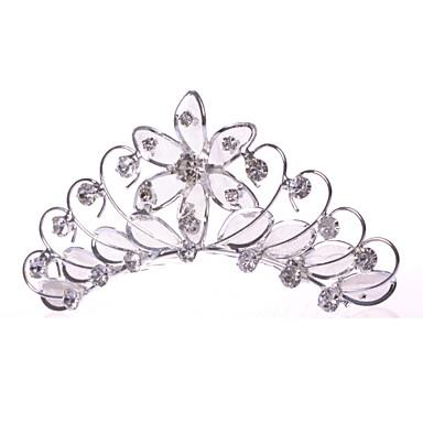 Γυναικείο Κορίτσι Λουλουδιών Κράμα Δίχτυ Headpiece-Γάμος Ειδική Περίσταση Καθημερινά Χτενιές Μαλλιών 1 Τεμάχιο