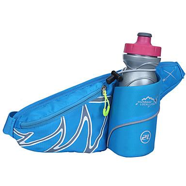 WEST BIKING® <20LLBelt Pouch/Belt Bag Waist Bag/Waistpack for Camping / Hiking Fishing Climbing Leisure Sports Cycling / Bike Traveling