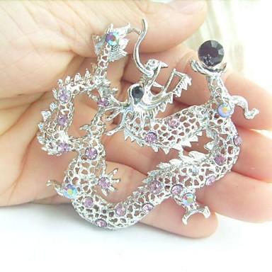 Dragon Écran couleur Bijoux Pour Mariage Soirée Occasion spéciale Anniversaire