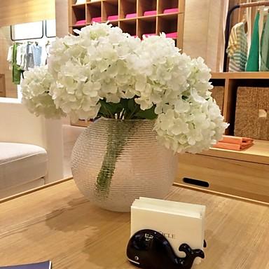 인공 꽃 2 분기 현대적인 스타일 수국 테이블  플라워