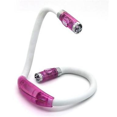 1 parça Gece aydınlatması LED LED Okuma Işığı Batarya Soğuk Beyaz 1 Lamba Pil Dahil Değildir 31.0*14.0*2.0cm