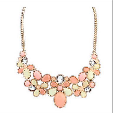 Жен. Ожерелья-бархатки - европейский Желтый Зеленый Розовый Радужный Ожерелье Назначение