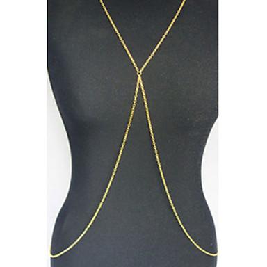 Украшения для тела/Цепь Тела / Belly Chain Сплав Others Уникальный дизайн Мода Золотой 1шт