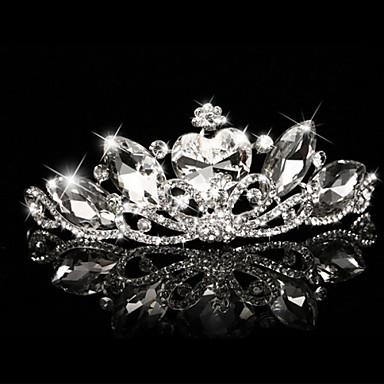 abordables Bijoux de Cheveux-Résine Diadèmes avec 1 Mariage / Occasion spéciale Casque