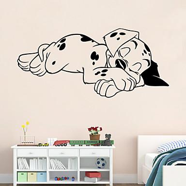 seinä tarroja seinäsiirtokuvia tyyli Soporous koira pvc seinä tarroja