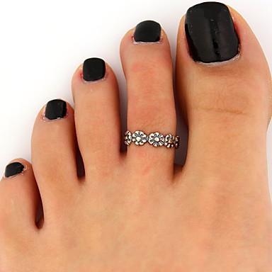 Χαμηλού Κόστους Μοδάτο Δαχτυλίδι-Γυναικεία Κράμα Λουλούδι Μαργαρίτα Μοντέρνα Μοδάτο Δαχτυλίδι Κοσμήματα Χρώμα Οθόνης Για Πάρτι Ένα Μέγεθος